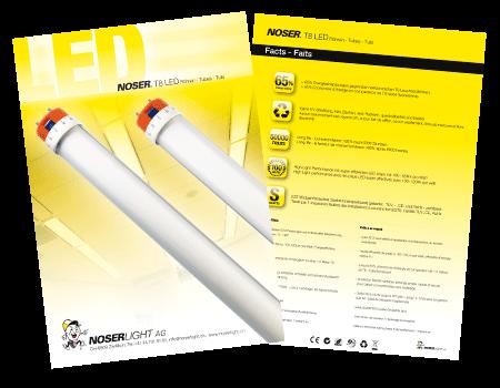 T8 LED Flyer - Noserlight AG