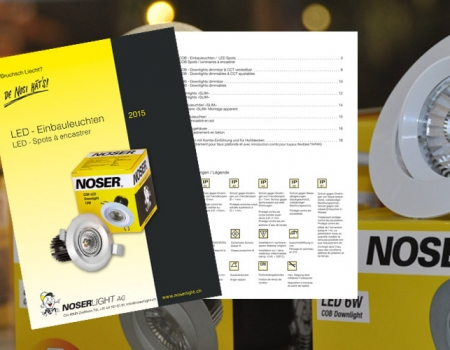 LED Einbauleuchten Katalog