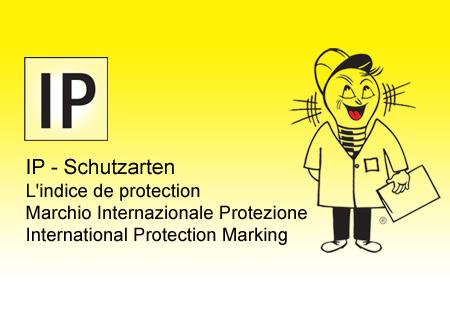 IP Schutz / IP Schutzart
