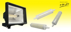 R7s LED Retrofit pour halogènes
