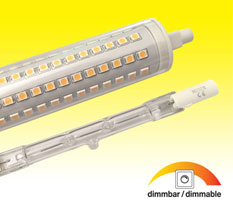 R7s LED Retrofit für Halogenstäbe