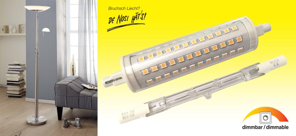 R7s Retrofit LED – jetzt exklusiv bei uns erhältlich!