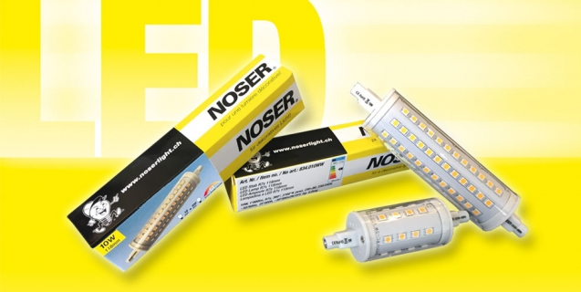 Maintenant aussi le LED R7s 78mm version dimmable!