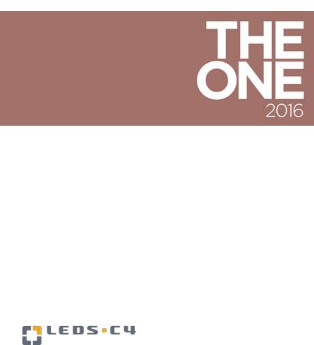 THE ONE 2016 Katalog