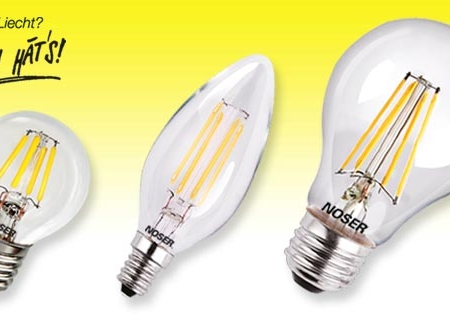 Filament LED – LED, die aussehen wie Glühlampen