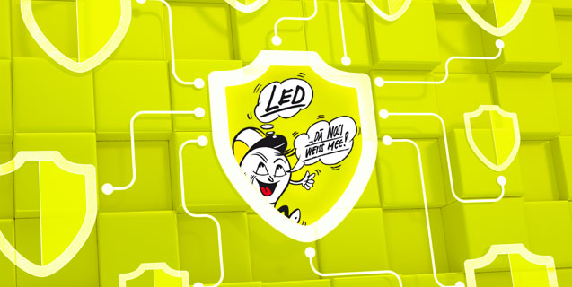 LEDs need to be protected!