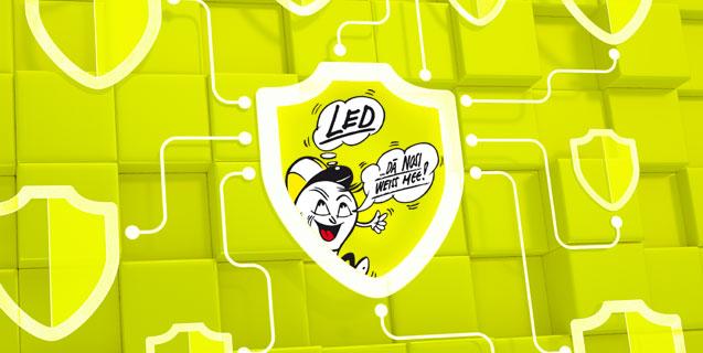 Les éclairages à LED devraient être protégés!
