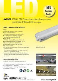 LED IP65 Nassraumleuchten