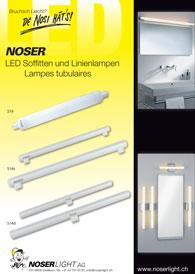 LED S19, S14s, S14d Linienlampen und Soffitten