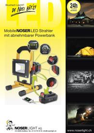 Mobiler Led - Strahler mit Powerbank
