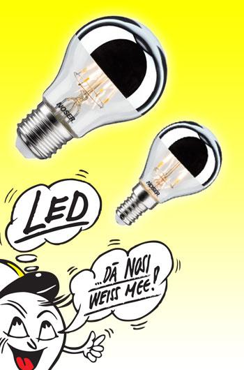 LED Kopfspiegel