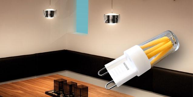 Un filamento LED può essere così piccolo!