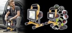 24h mobiles LED Licht ohne Netzstrom