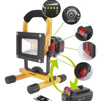 mobiler LED Strahler 10W