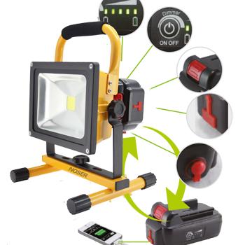 mobiler LED Strahler 20W