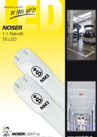 LED  T8 Retrofit 1:1