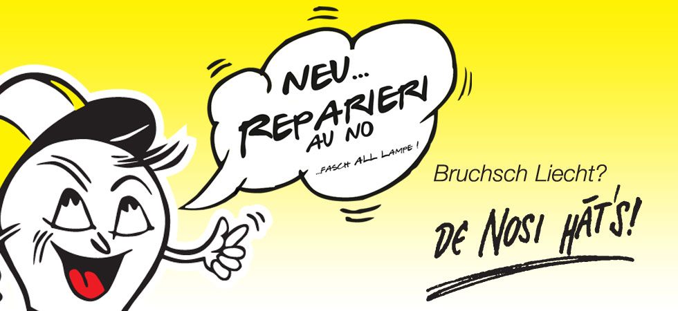 Jetzt mit Reparatur-Service!