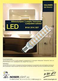 LED B15d, B15d Retrofit, B15d Halogen-Ersatz