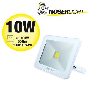 NOSER iLight LED Strahler 1x10W, 800lm, 3000°K - super flach, super schmal und super leuchtstark!, Art. Nr. 01-410F
