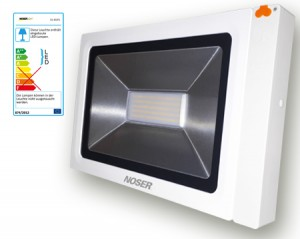 iLight LED Strahler mit Bewegungsmelder, 1x50W, warmweiss
