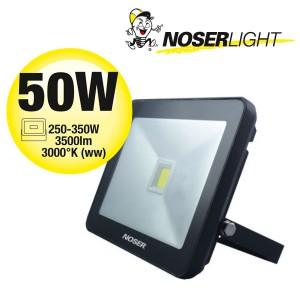 NOSER iLight LED Strahler 1x50W, 3500lm, 3000°K, Art. Nr. 01-450FB