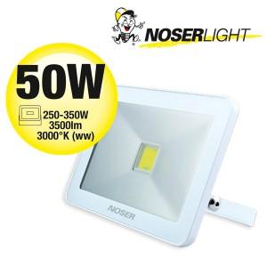 NOSER iLight LED Strahler 1x50W, 3500lm, 3000°K - super flach, super schmal und super leuchtstark! Art. Nr. 01-450F