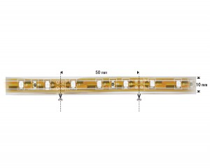 NOSER-LED-Strip, Farbe rot, OUTDOOR, 12VDC, epoxy, IP67, 25W