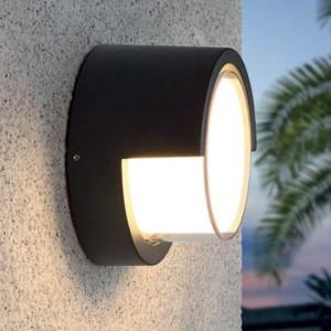 LED Aussenleuchte CORTONA, antrazith, IP54, warmweisses Licht