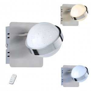 LED Spot-/Deckenleuchte, funkelnd, multifunktional, dimmbar und edel im Design