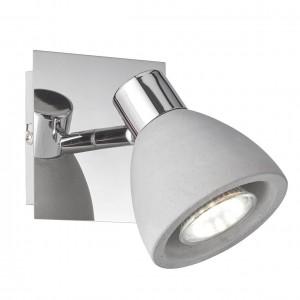 LED Spotleuchte VERIA in Beton-Optik für GU10