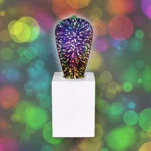 SET! NOSER Filament Deko LED ST64 - Regenbogenfarben für Ihr Zuhause
