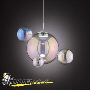LED Pendelleuchte MIA - so leicht wie Seifeblasen