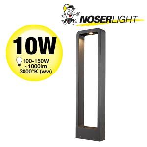 LED Aussenleuchte ARC, 60cm, schwarz, IP65, warmweisses Licht