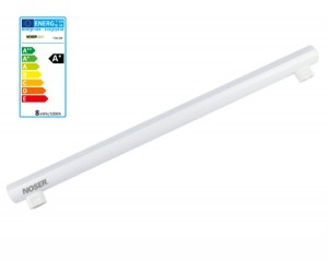 NOSER LED Linienlampe S14s, 8W, 700lm, 2700°K, 500mm, DIMMBAR, Art. Nr.730.08D