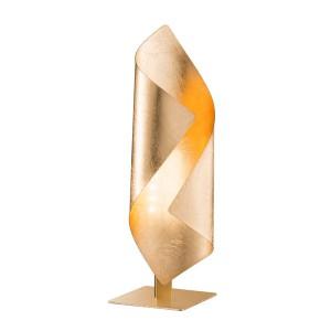 LED Tischleuchte SAFIRA - goldenes Licht auf dem Tischen und Tresen