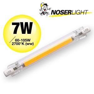 R7s LED 7W, >600lm, 240V, 2700°K (ww) Art. Nr. 834.07WW
