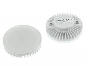 NOSER LEDison - Gx53 LED, 5.5W, 400lm (+-10%), 3000°K - warmweiss