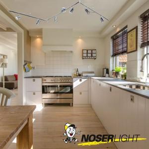 LED Deckenleuchte HOORN mit 6 verstellbaren Spots