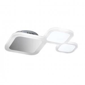 LED Decken-/Wandleuchte DROM - gespiegelte Flächen und klare Formegebung