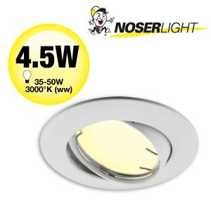 LED Einbauleuchten - Set AL204-30 + LED GU10 4.5W