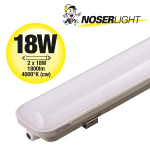 LED IP65 Leuchte, 18W, 1800lm, 4000K, 60cm ,CRI>80