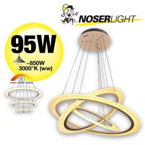 NOSER LED Pendelleuchte im schlichten Design, Art. Nr. Orbit