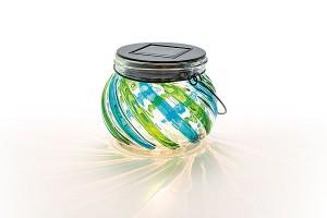 Solar Rainbow Jar B/G