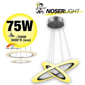 NOSER LED Pendelleuchte Saturn im schlichten Design! Art. Nr. Saturn