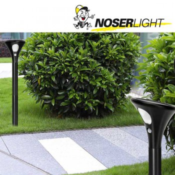 LED Solar Gartenstrahler schwarz mit Bewegungssensor inkl. Erdspiess, Art.-Nr. 7500SP