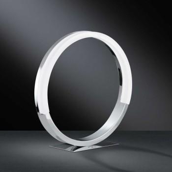 LED Tischleuchte SOUL - funktionales Schmuckstück in chrom