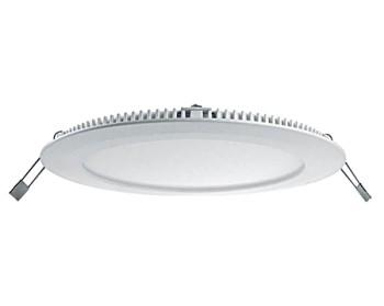 """LED Einbauleuchte / LED Downlight """"Slim"""", Farbe weiss, 12W, 900lm, 4000°K, Art. Nr. DLB12W-CW"""