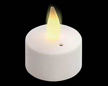 LED-Teelichter Set mit Flammen-Imitation