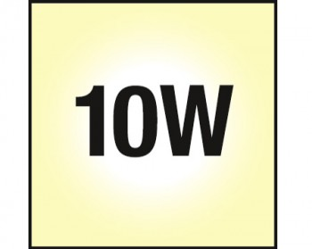 NOSER COB-LED Downlight, dimmbar, Farbe stahl-gebürstet, 10W, >600lm, 2700-3000°K - warmweiss, Art. Nr. COBDLSG10-WW