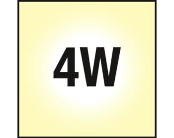 NOSER LED E14 Kerze C35, klar, 4W, 450lm, warmweiss - 2700°K, Art. Nr. 448.04